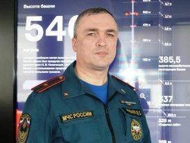 Интервью начальника пожарной части №111