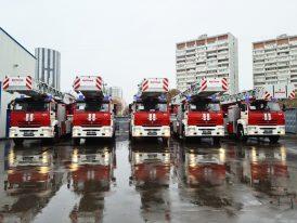 поставка пожарных автолестниц В�ТАНД для пожарных Москвы