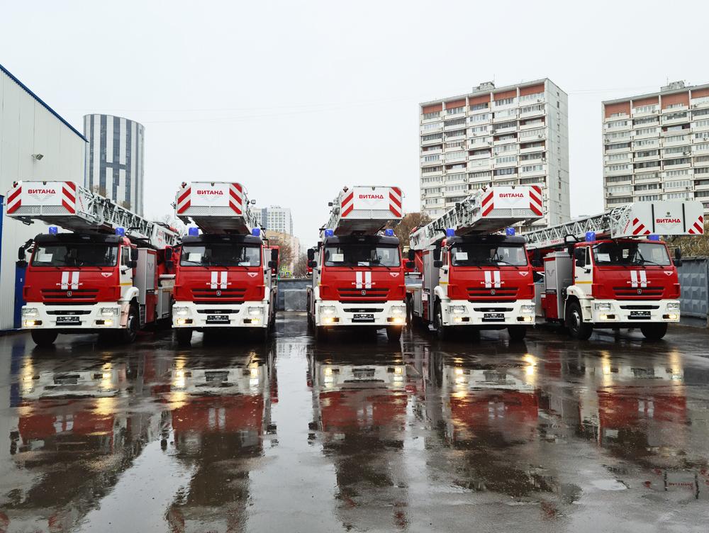 поставка пожарных автолестниц ВИТАНД для пожарных Москвы